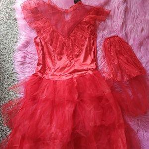 Dress Lidia wedding dress Beetlejuice Halloween